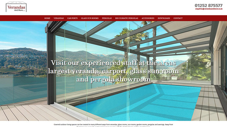 Verandas and More Website